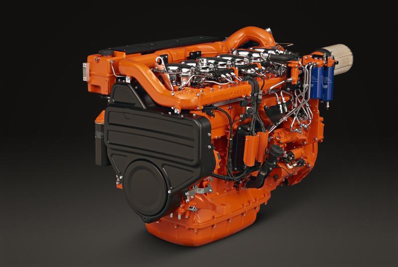 Scania boosts marine engines