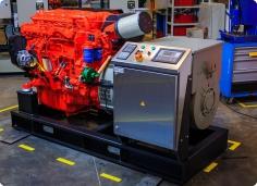 Судовой дизель-генератор на базе двигателя Scania